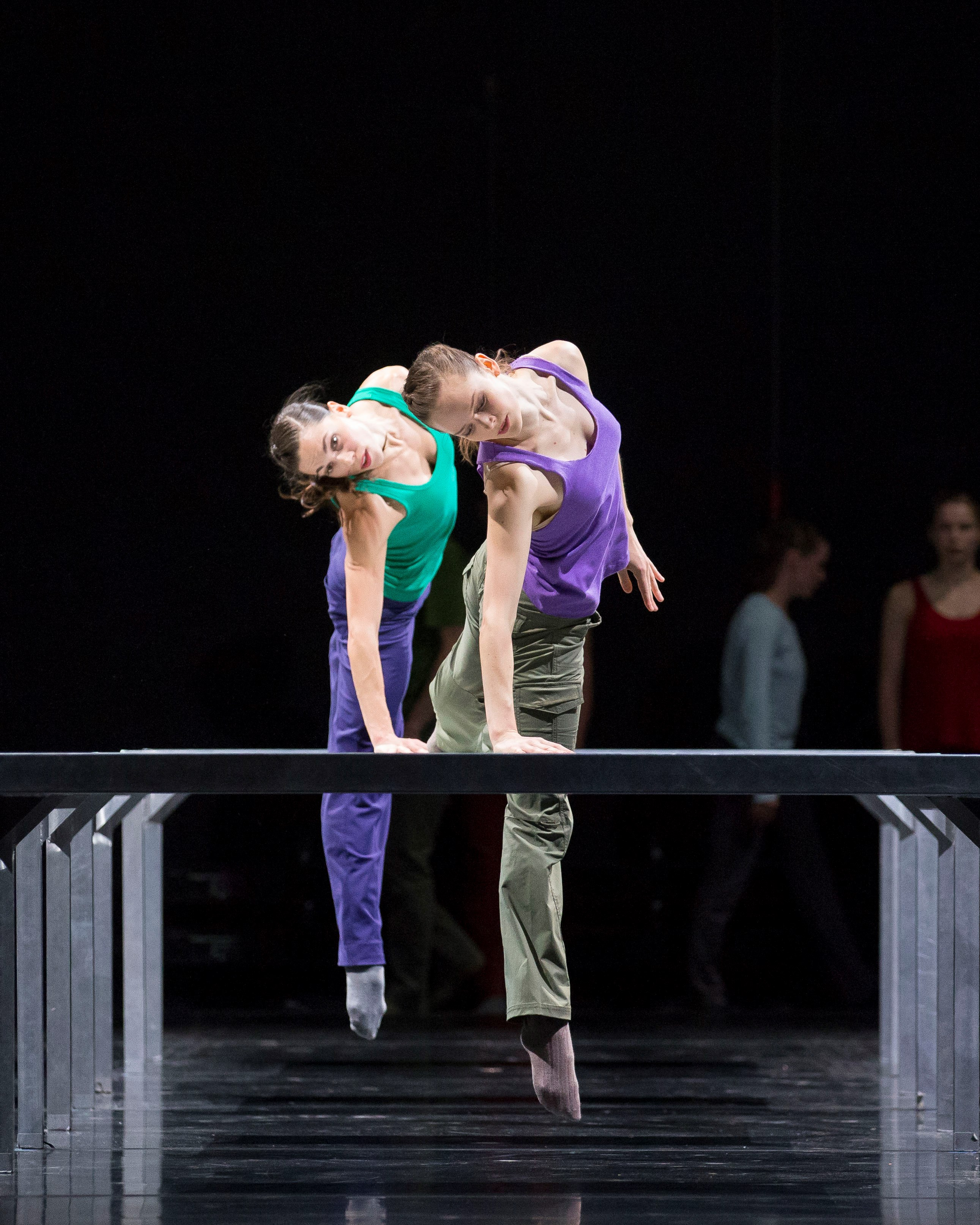 Alice Klock in William Forsythe's One Flat Thing, reproduced